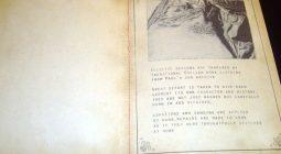 Sewn binding on period book