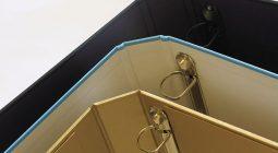 Custom Ring Binders - Paper on Board