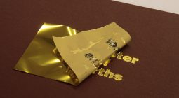 Gold Embossed Book