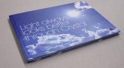 Case bound book - Blue
