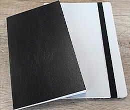 soft backed notebooks