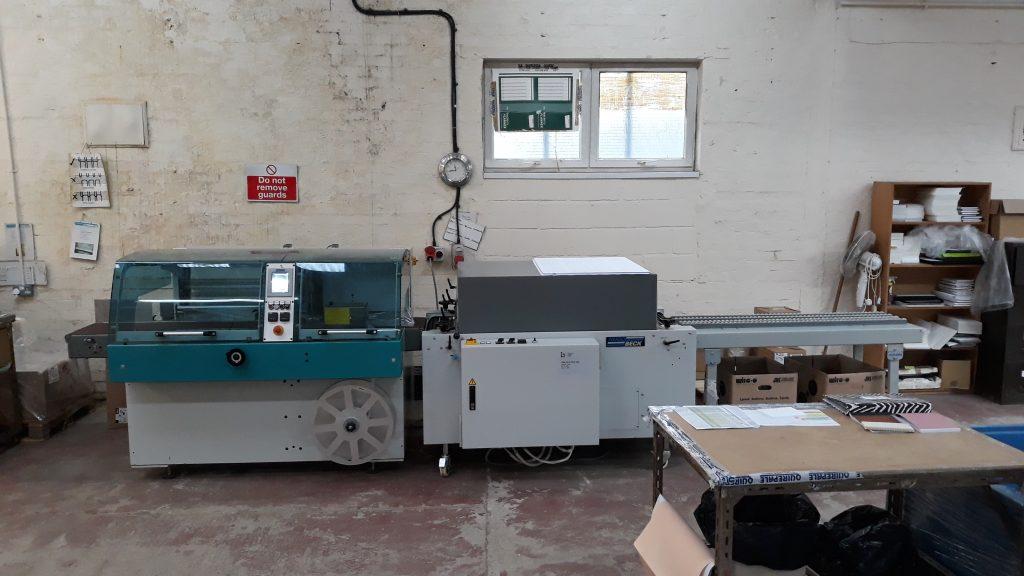 Flexo 500 S Shrinkwrap machine