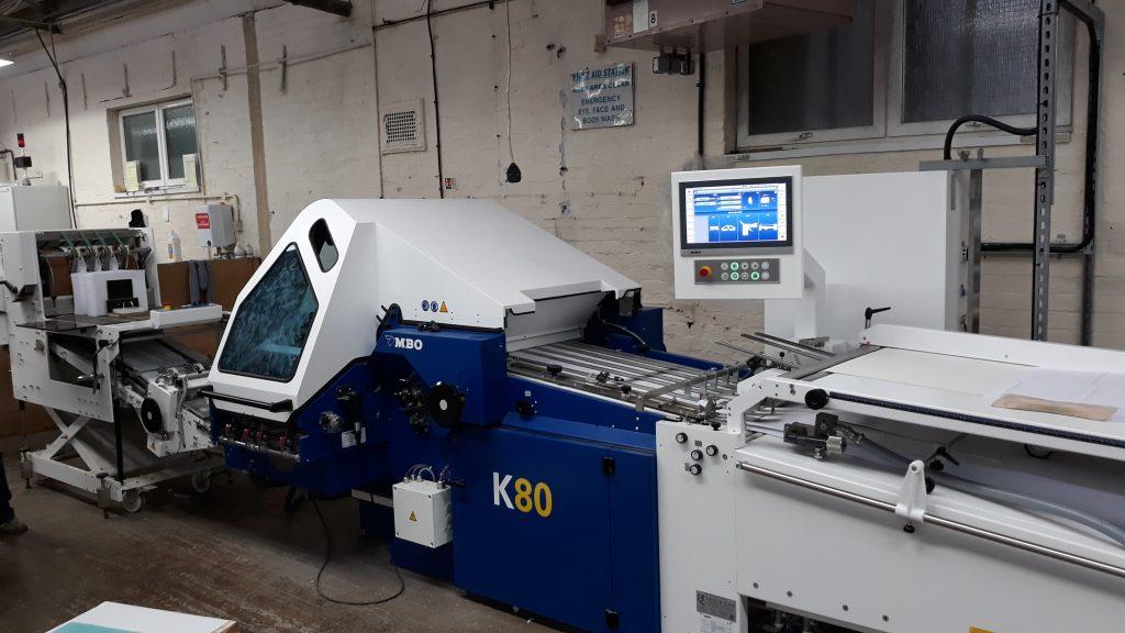 MBO K80 fully automated Folding Machine